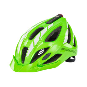 Endura Luminite Helmet hi-viz green/reflective
